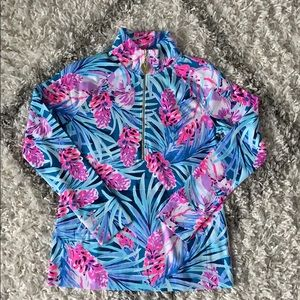 Lilly Skipper Popover Peacock Blue Tweethearts NEW